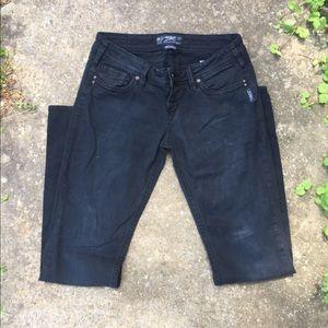 Silver co jeans black pioneer jeans